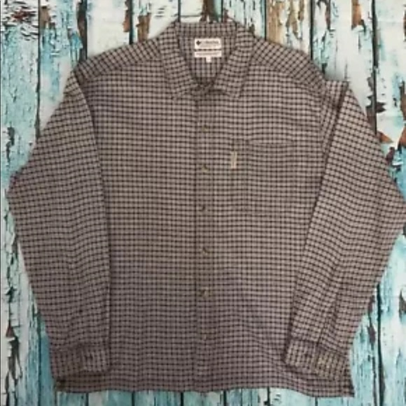 Columbia Other - Columbia Mens Long Sleeve Button Front Shirt